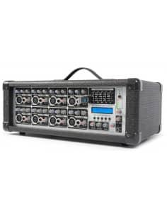 Power Dynamics PDM-C808A Mesa autoamplificada 8 Canales MP3/ECHO