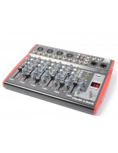 Power Dynamics PDM-L605 Mezclador para escenario 6 Canales MP3/ECHO