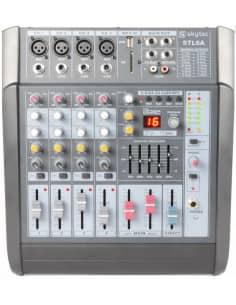 SkyTec STL6A 6-Canales Mezclador Autoamplificado SD/USB/MP3/DSP