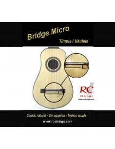 Bridge micro para timple y ukulele - Royal Classics AMB10
