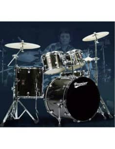 "BATERÍA ""PREMIER"" Classic Rock 22 Palisandro"