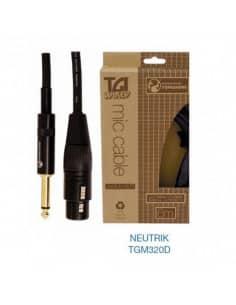 "Cables para Microfono ""TGI"" Cable XLR- jack"