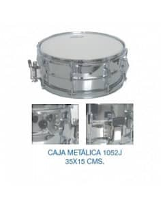 "Caja Metalica bateria ""JINBAO"" 1052 - 14"" x 6"""