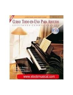 Curso adultos + CD Piano Palmer/Manus/Lethco - Todo en Uno