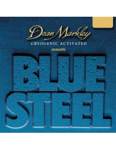 Cuerdas Dean Markley Acustica BLUE STEEL MEDIUM 12-56
