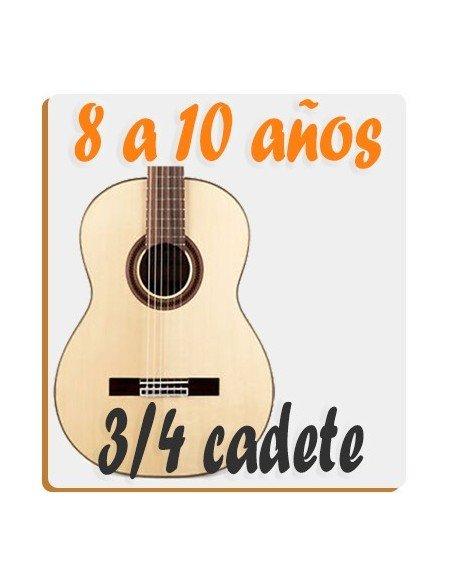 Guitarras 3/4 - 8 a 10 años